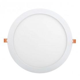 Светильник ДВО 1609 белый круг LED 24Вт 4000 IP20 IEK