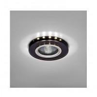 Светильник Bohemia LED 51 6 71 декор. гладк. стекло со светодиод. подсвет. MR 16 черн. ИТАЛМАК