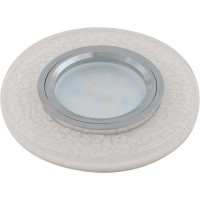 Светильник DLS-L104 Luciole светодиод. подсветка GU5.3 CHROME/WHITE Fametto