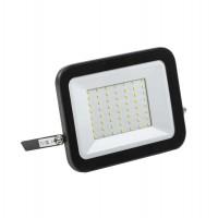 Прожектор СДО 06-50 светодиодный черный IP65 6500 K IEK