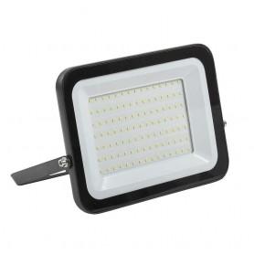 Прожектор СДО 100 ВТ светодиодный черный IP65 6500 K IEK