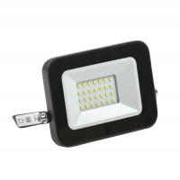 Прожектор СДО 06-20 светодиодный черный IP65 4000 K IEK