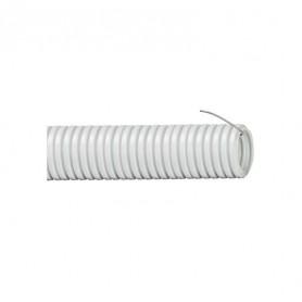 Труба гофрированная ПВХ d25мм с зондом сер. (уп.10м) ИЭК