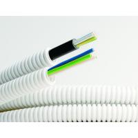 Труба гофрированная ПВХ d16мм с кабелем РЭК ГОСТ+ ВВГнгLS 3х2.5 сер. (уп.50м) ДКС