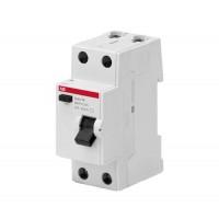 Выключатель диф. тока 2п 63А 30мА тип AC Basic M BMF41263 ABB
