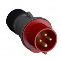 Вилка кабельная Easy&Safe 316EP6 16А 3P+E IP44 6ч ABB