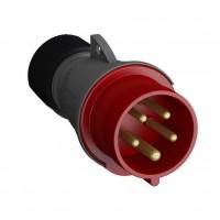 Вилка кабельная Easy&Safe 432EP6 32А 3P+N+E IP44 6ч ABB