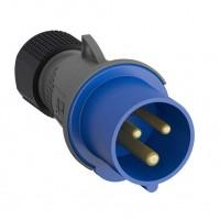 Вилка кабельная Easy&Safe 232EP6 32А 2P+E IP44 6ч ABB
