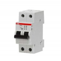 Выключатель автоматический модульный 2п C 50А 6кА SH202 ABB