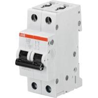 Автомат. выкл. 2-пол. 16А тип B 6кА серия S200