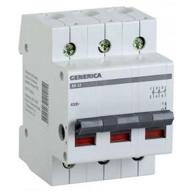 Выключатель нагрузки (мини-рубильник) ВН-32 3Р 100А GENERICA