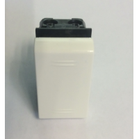 Выключатель однополюсный, 1 модуль