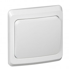 Выключатель 1 клавишный белый Этюд