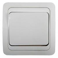 Выключатель 1-кл. CLASSICO 2021 бел. ASD / IN HOME