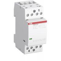 Контактор ESB25-40N-06 модульный (25А АС-1, 4НО), катушка 230В AC/DC