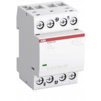 Контактор ESB63-40N-06 модульный (63А АС-1, 4НО), катушка 230В AC/DC