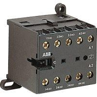 Реле мини-контакторное КС6-40Е-F-1.4-81 (3A при AC-15 400В), катушка 24В DC, со штыревыми клеммами