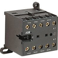 Реле мини-контакторное КС6-40Е-P-1.4-81 (3A при AC-15 400В), катушка 24В DC, с выводами под пайку