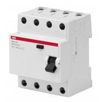 Выключатель диф. тока 4п 63А 30мА тип AC Basic M BMF41463 ABB