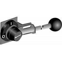 Ручка управления YASDA35 усиленная стальная для рубильников типаOT1000..2500 установки на дверь IP65 c cимволами I-O