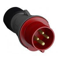 Вилка кабельная Easy&Safe 332EP6 32А 3P+E IP44 6ч ABB