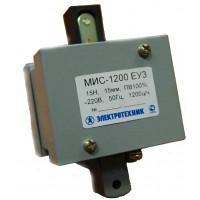 МИС-1200 ЕУ3, 220В, толкающее исполнение, ПВ 100%, IP20, с жесткими выводами, электромагнит (ЭТ)