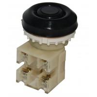 ВК30-10-11110-54 У2, черный, 1з+1р, цилиндр, IP54, 10А, 660В, выключатель кнопочный (ЭТ)
