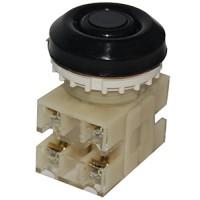 ВК30-10-22110-54 У2, черный, 2з+2р, цилиндр, IP54, 10А. 660В, выключатель кнопочный (ЭТ)