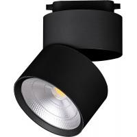 Светодиодный светильник Feron AL107 трековый на шинопровод 25W, 90 градусов, 4000К, черный