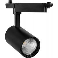 Светодиодный светильник Feron AL102 трековый на шинопровод 12W 4000K 35 градусов черный