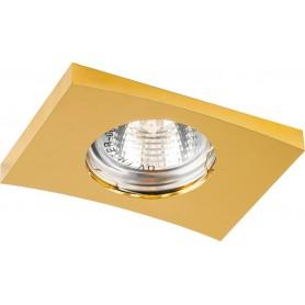 Светильник встраиваемый Feron DL5A потолочный MR16 G5.3 золото