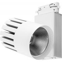 Светодиодный светильник Feron AL105 трековый на шинопровод 40W 4000K, 35 градусов, белый, 3-х фазный