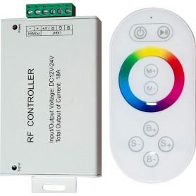 Контроллер для светодиодной ленты с П/У белый, 18А12-24V, LD56, артикул 21558