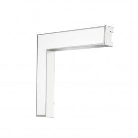 Светодиодный светильник Geniled Trade Linear L 600/500х100х65 60Вт 5000К Матовое закаленное стекло 7980лм