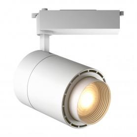 Светодиодный трековый светильник Geniled Track Classic Zoom 40Вт 4700К Белый с адаптером для однофазного шинопровода