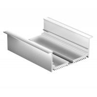 Профиль для светодиодной ленты Geniled врезной 88×32×2000 М68