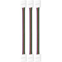 Набор проводов для гибкого соединения RGB светодиодной ленты шириной 10 мм 3 шт