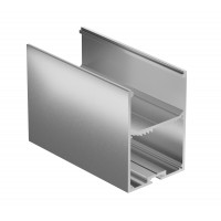 Профиль для светодиодной ленты Geniled накладной+подвесной 50×70×2000 М44