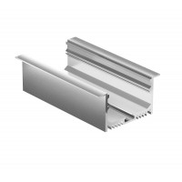 Профиль для светодиодной ленты Geniled врезной 63×32×2000 М44