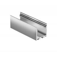 Профиль для светодиодной ленты Geniled накладной+подвесной 28×25×2000 М28