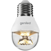 Светодиодная лампа Geniled Е27 G45 8Вт 2700K линза