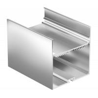 Профиль для светодиодной ленты Geniled накладной+подвесной 74×77×2000 М68