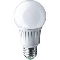 Лампа светодиодная 7 Вт 230В Е27 колба А60, композит, тёплый белый 71 647