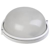 Светильник НПП1301 белый/круг 60Вт IP54 ИЭК без решётки