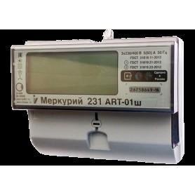Счётчик 3ф. мн.т. акт.реакт.эн. 5- 60А 380В кл.1/2 ЖК-дисп. DIN-рейка,оптический испытательный выход. до 4-х тар.
