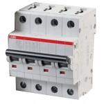 Автоматические выключатели ABB cерия S200  на токи 0,5-100А 6 кА