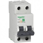 Автоматические выключатели Schneider Electric серия  Easy9 на токи 6-63А 4,5кА