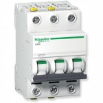 Автоматические выключатели Schneider Electric серия  Acti 9 iС60N на токи 0,5-63А 6кА
