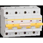Автоматические выключатели IEK серия ВА 47-100 на токи 10-100А 10кА