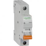 Автоматические выключатели Schneider Electric серия  Домовой на токи 6-63А 4,5кА